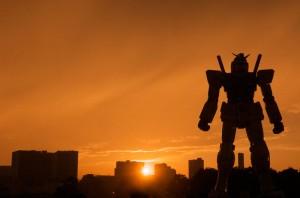 Gundam Guards Tokyo by Night