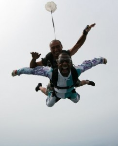 Jabari Smith Skydiving