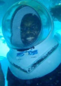 Jabari Smith Under Water Diving