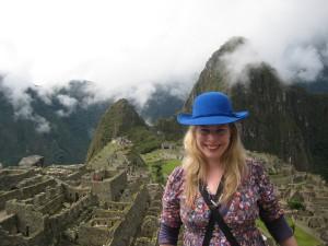 Vanessa at Machu Picchu, Peru