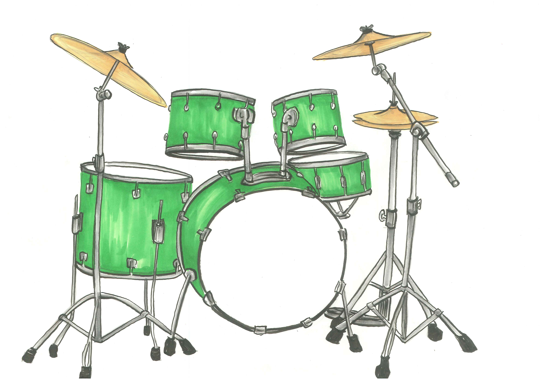 Drum Set Clipart Drum Set Clip