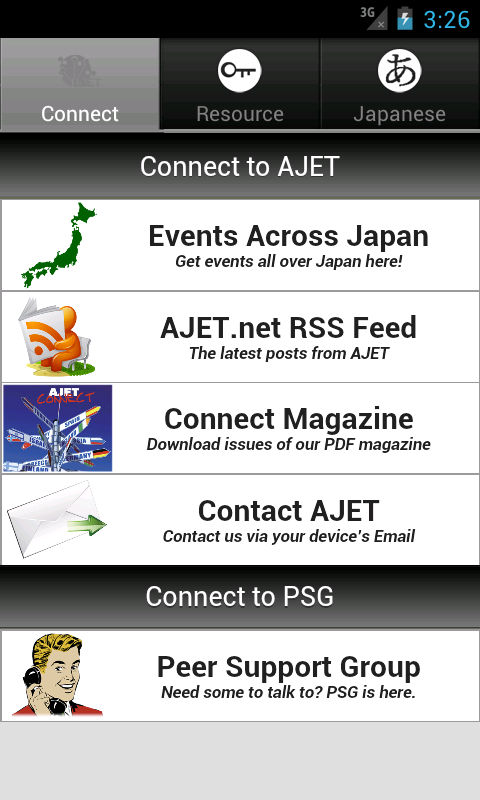 AJET- iConnect for Android