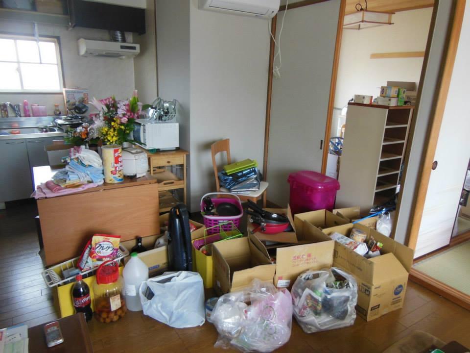 Hannah Brown - moving apartments
