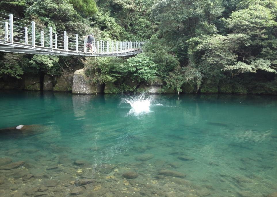 Kikuchi swimming hole