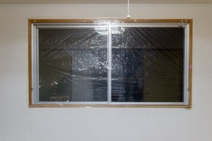 Window with wrap