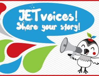 JET Voices – Share your story and get published!